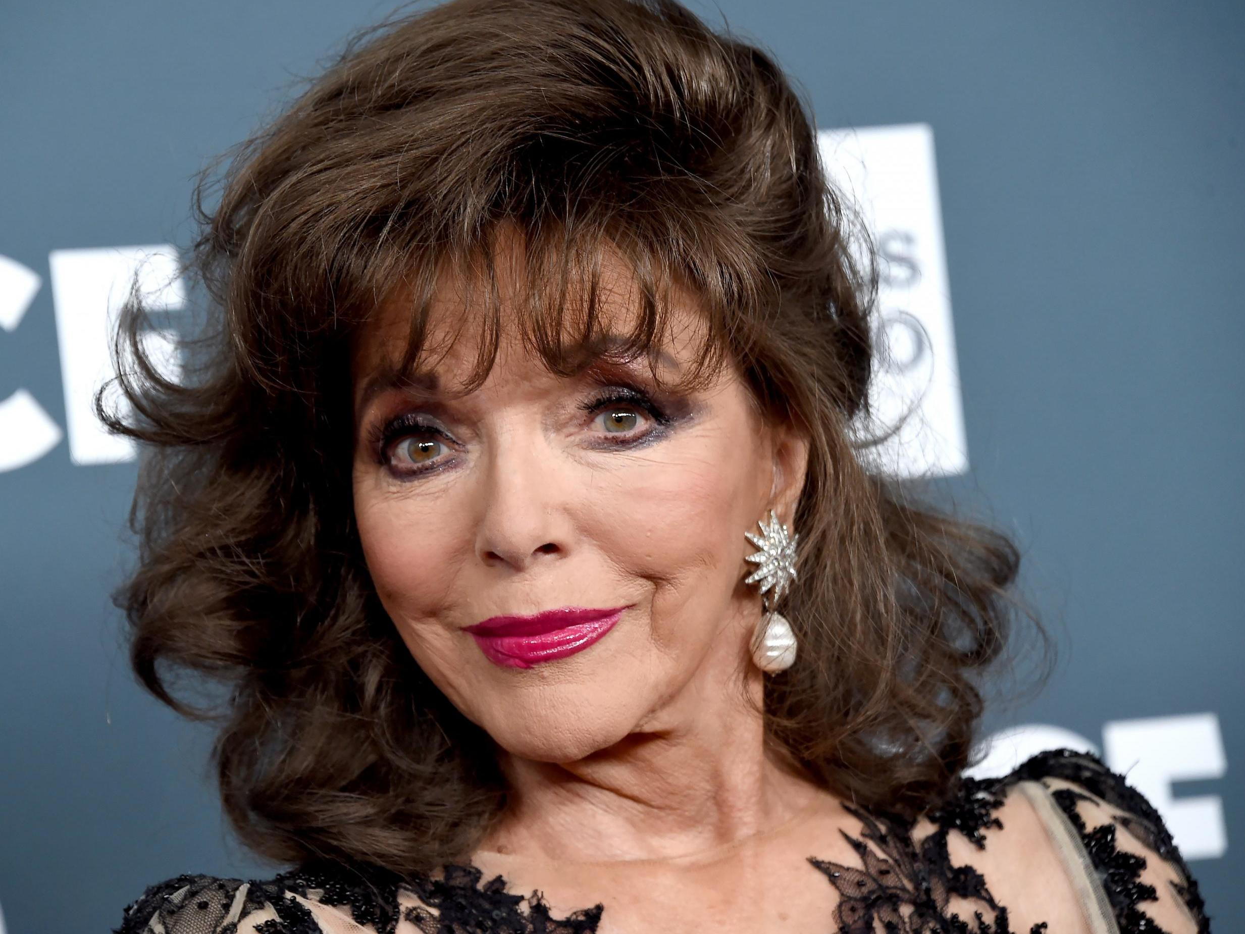 Porn joan collins fake photos