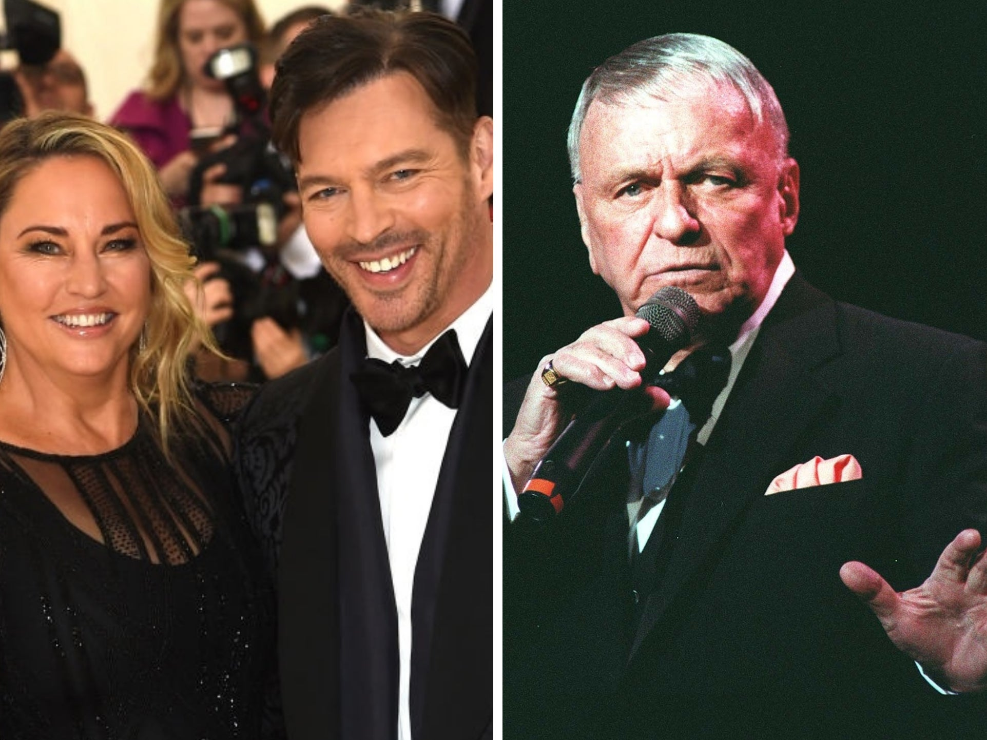 Harry Connick Jr claims Frank Sinatra was 'completely inappropriate' with his wife