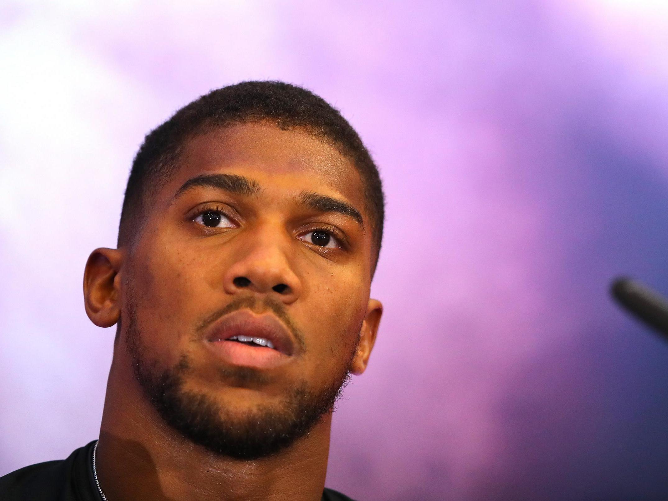 Anthony Joshua offers stinging rebuttal to claims he's lost his ment…