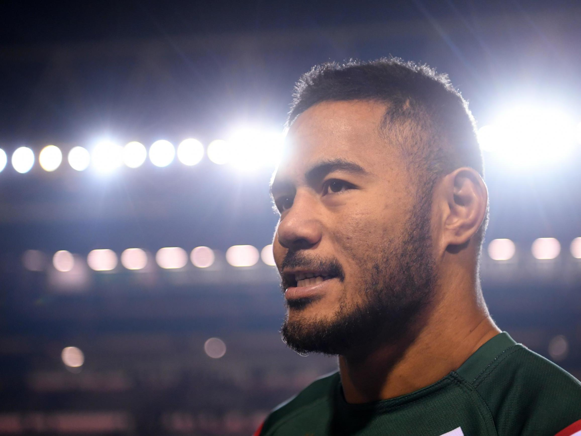 Manu Tuilagi plays down code switch rumours and hints he could see out Leicester Tigers contract