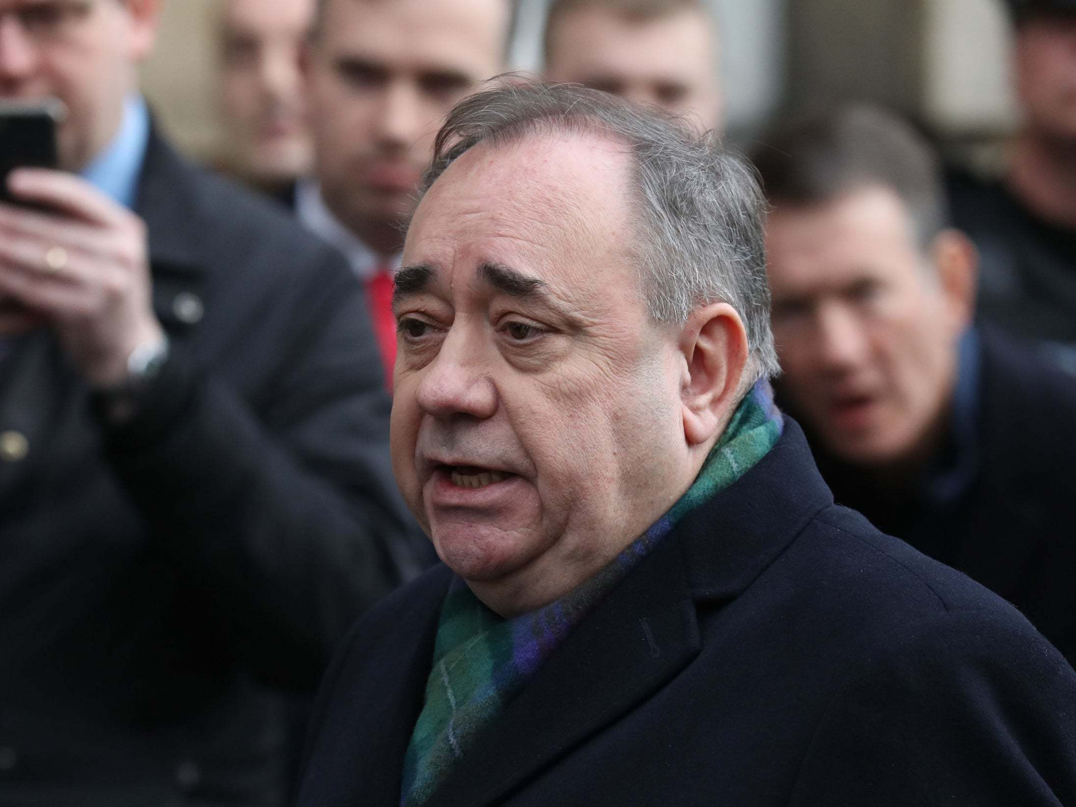 Alex Salmond denies attempting to rape woman in court appearance