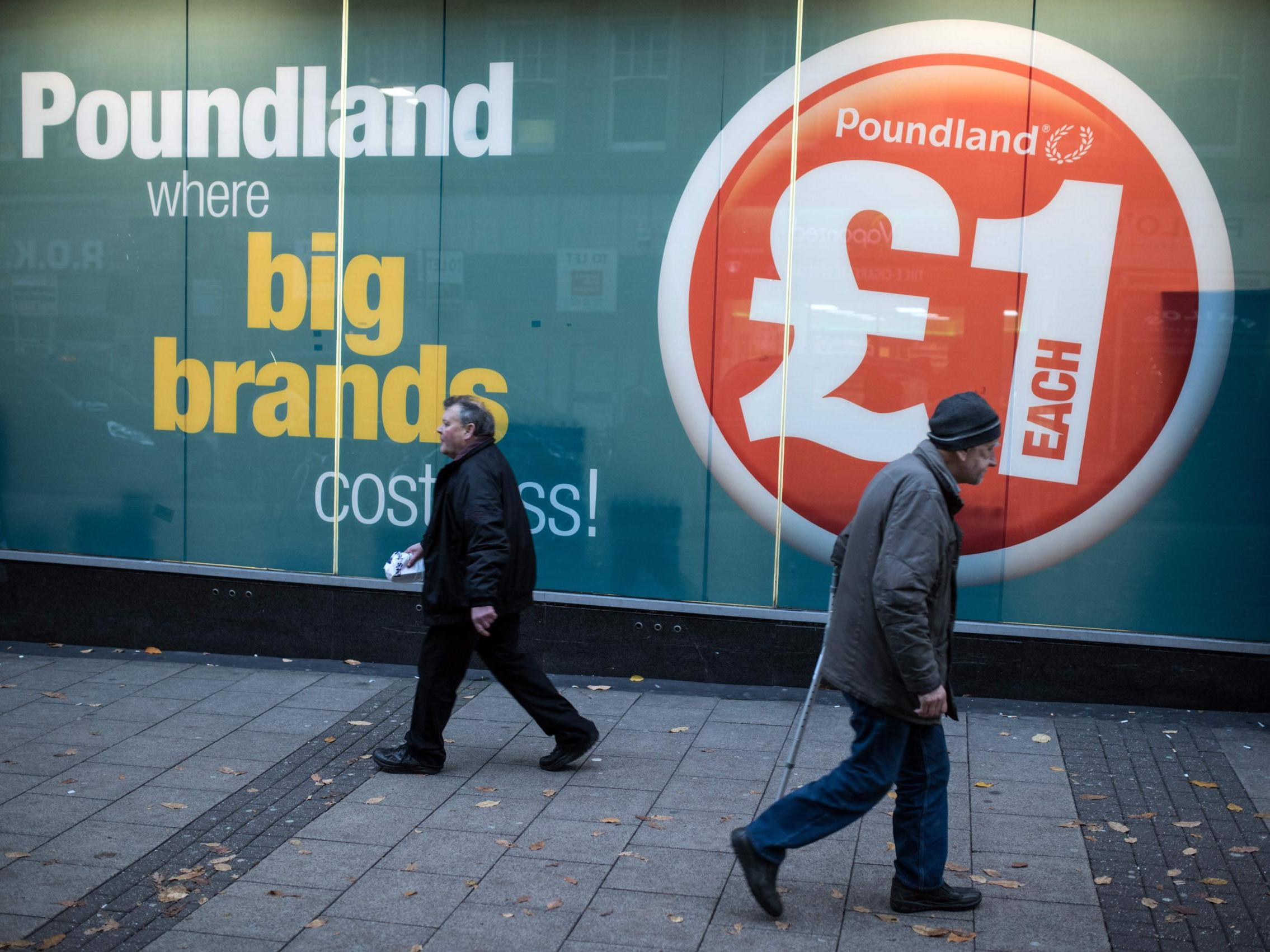 Poundland is no longer a pound shop as it ditches £1 price promise