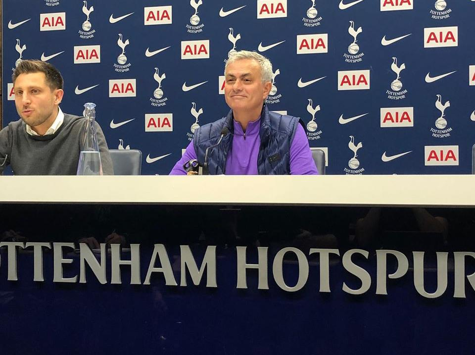 Jose Mourinho: Tottenham manager reveals he told players 'he came for them' in first press conference