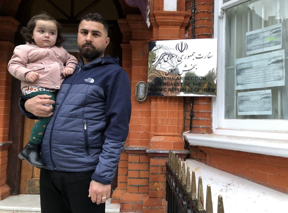 Mr Murad has been repeatedly denied a travel document in order to visit a dying relative