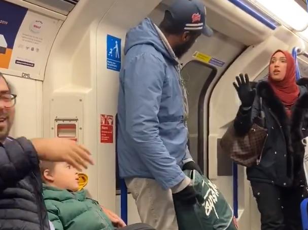Tube passengers unite to challenge man hurling antisemitic abuse at …
