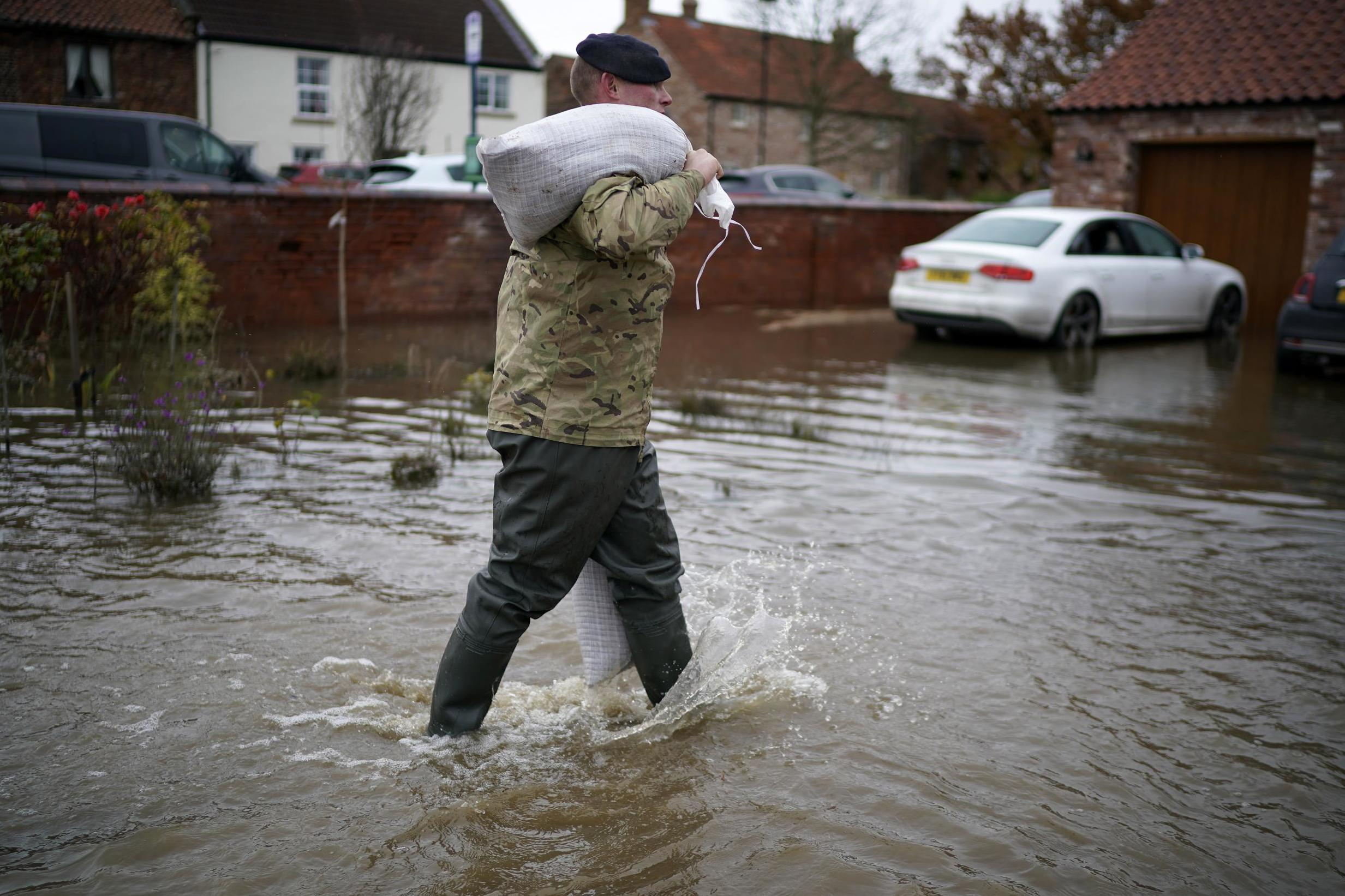 UK weather forecast: Warnings issued for five days as flood-hit areas brace for more rain