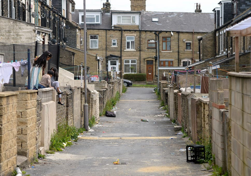 Bradford was among the areas with the highest number of children known to be at risk