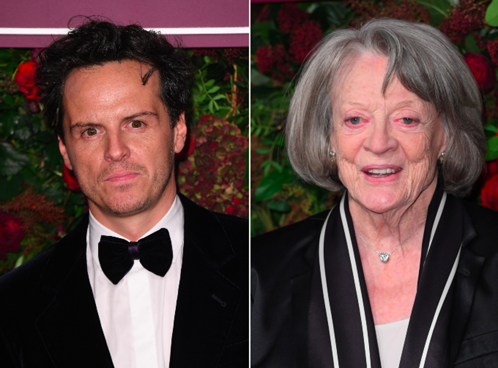 Andrew Scott and Maggie Smith on the red carpet