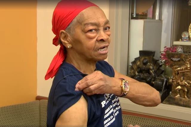 Willie Murphy, of Rochester, New York, who fought off man who broke into her home