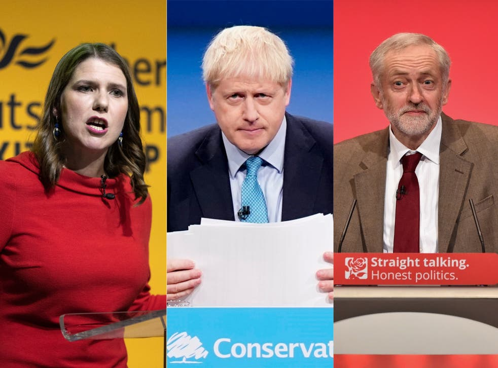 All three of the major parties have pledged to do a lot for women