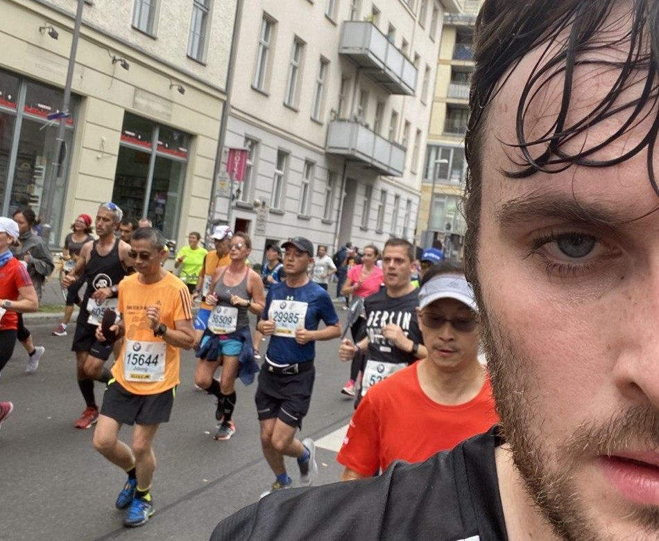 This is what happened when I tried to do a marathon with barely any training