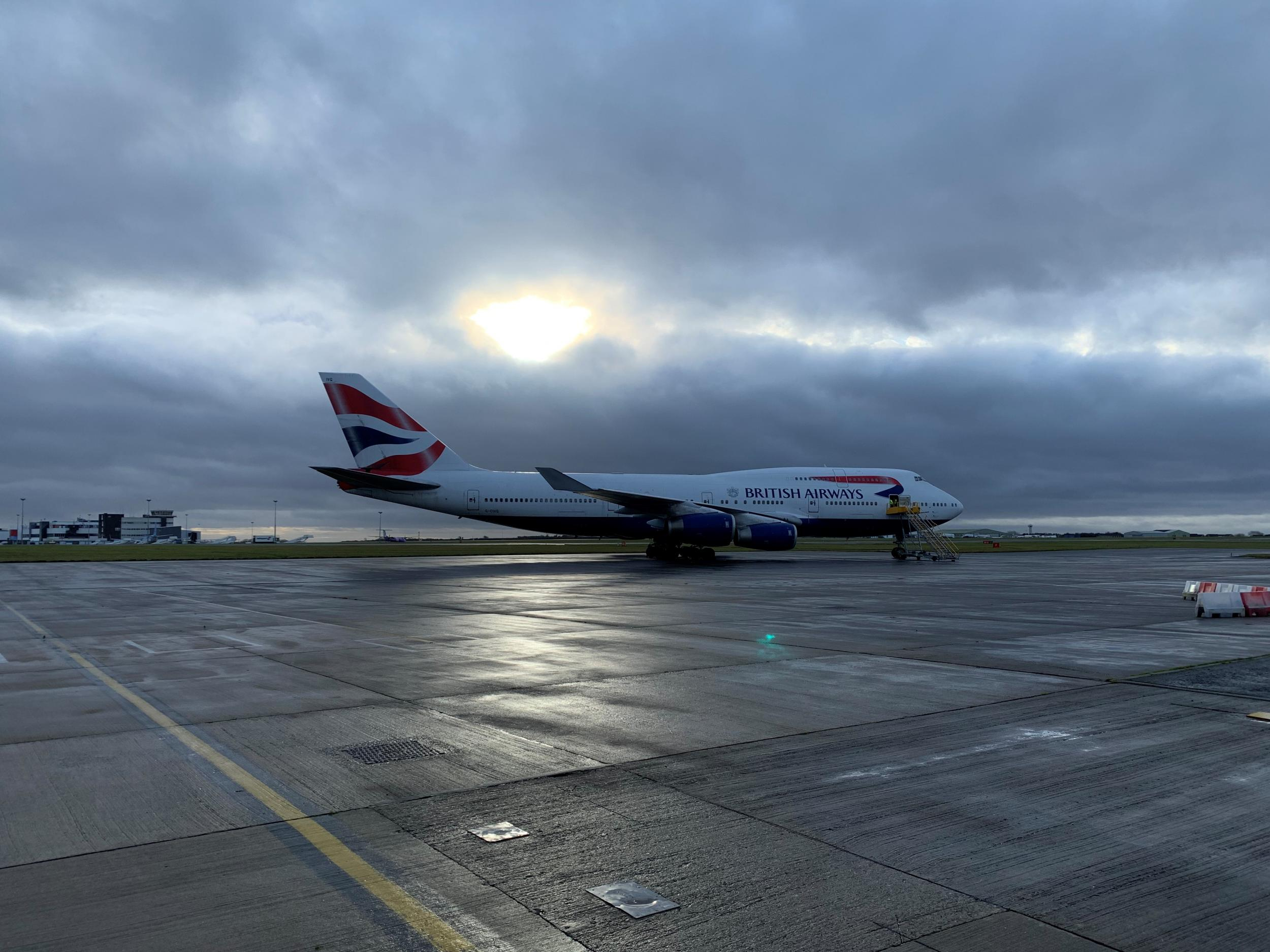 This could be the world's shortest-ever Boeing 747 flight