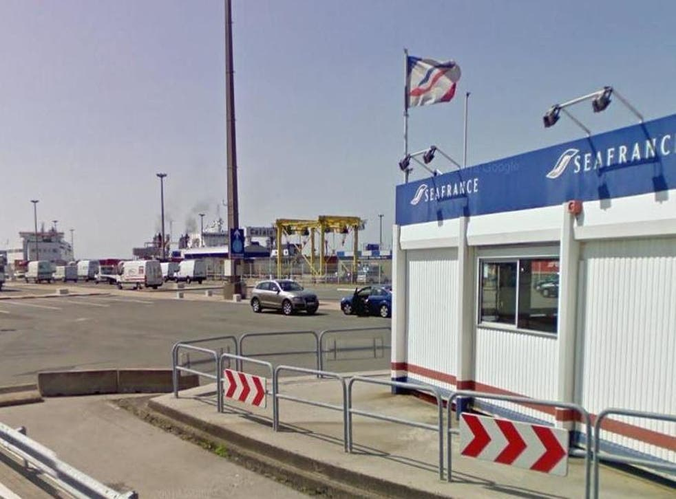 The man was arrested as he tried to board a ferry with his dead mother in the car