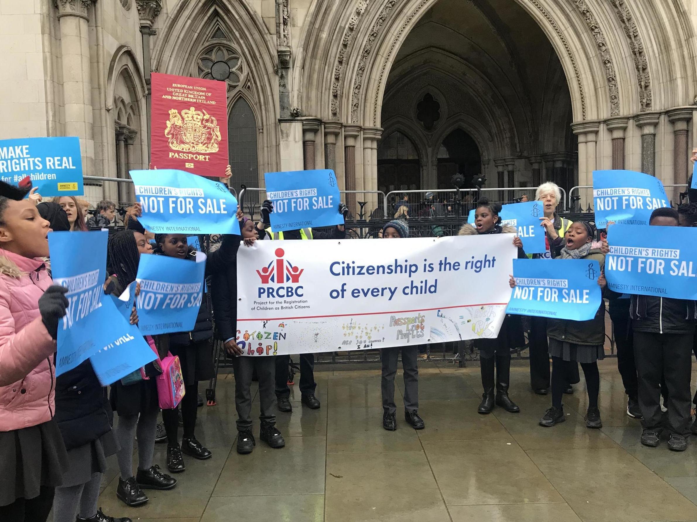 'Exorbitant' Home Office child citizenship fee 'depriving' British-born children of