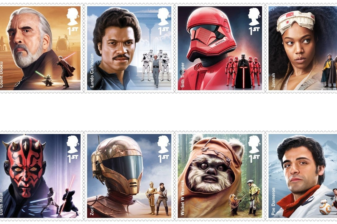 Star Wars UK Postage Stamp Presentation Pack
