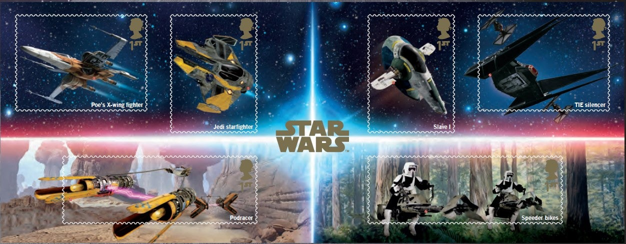Star Wars Royal Mail Is Releasing Special Stamps For The
