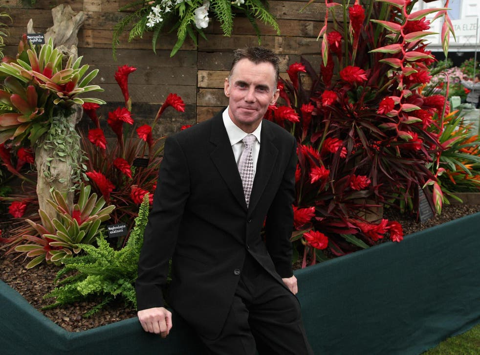 Gary Rhodes at Chelsea Flower Show in 2018
