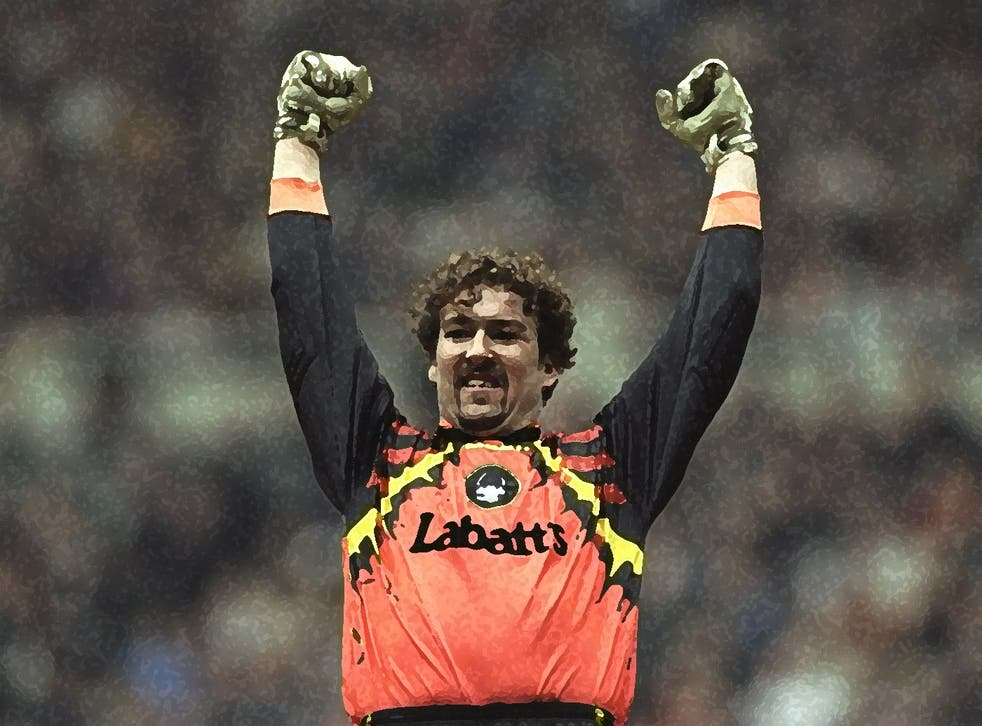 In 2002, it was calculated that the goalkeeper had saved 57 per cent of the penalties he'd faced up to that point