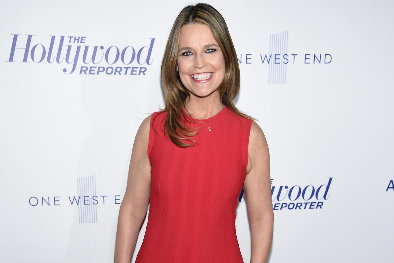 Savannah Guthrie Loses Vision In One Eye After Son Hits Her With Toy Train The Independent The Independent