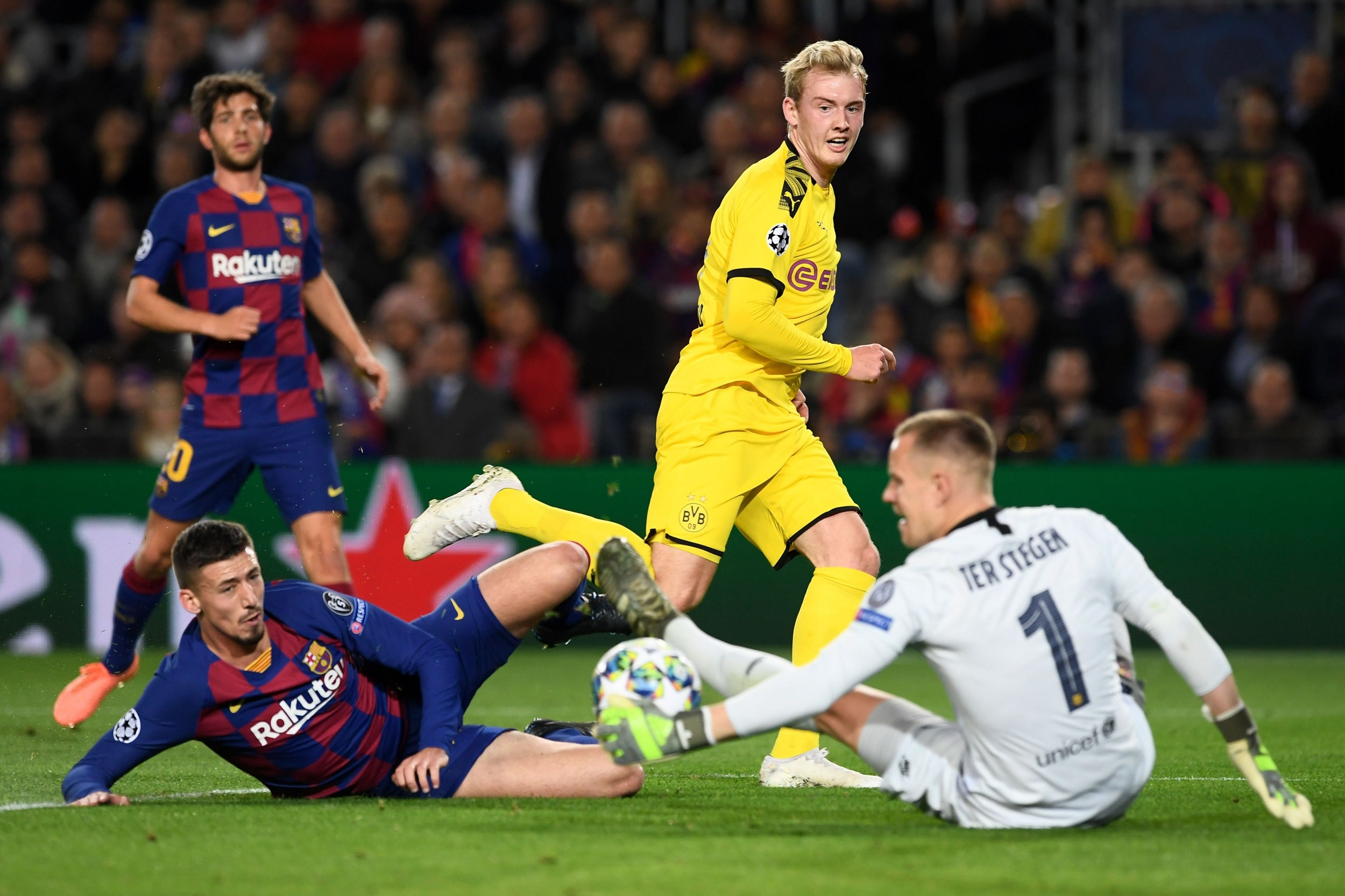 Image result for ter stegen vs dortmund 2019