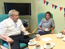 'Do you have a nurses tree too?' Johnson interrogated in hospital by group of sceptical staff
