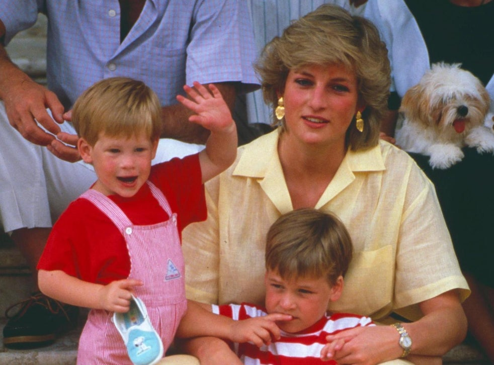 letter written by princess diana recalls how thrilled young princes harry and william were about christmas the independent the independent letter written by princess diana