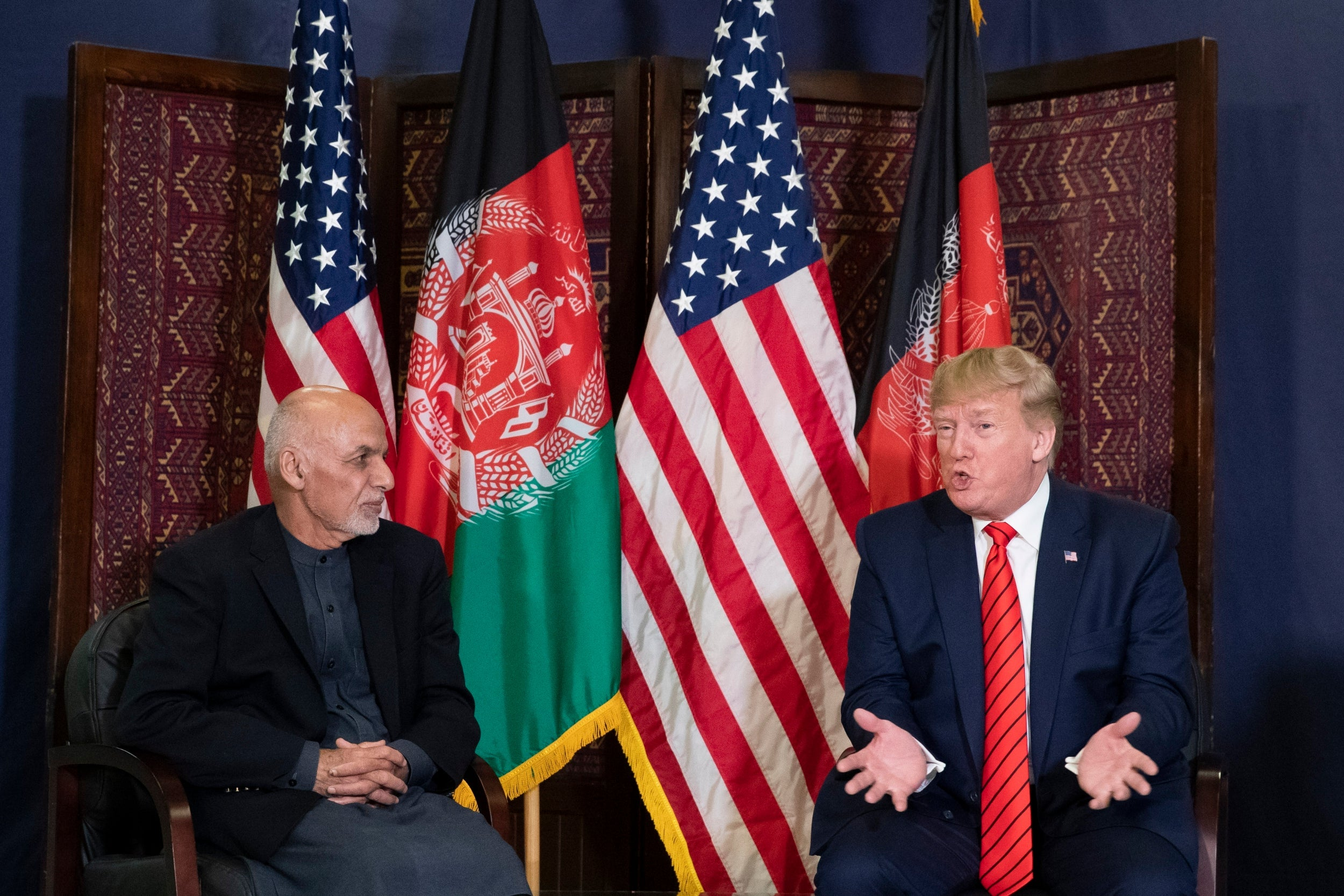 Borzou Daraghi: Donald Trump cannot claim peace with Afghanistan until the Taliban is dealt with