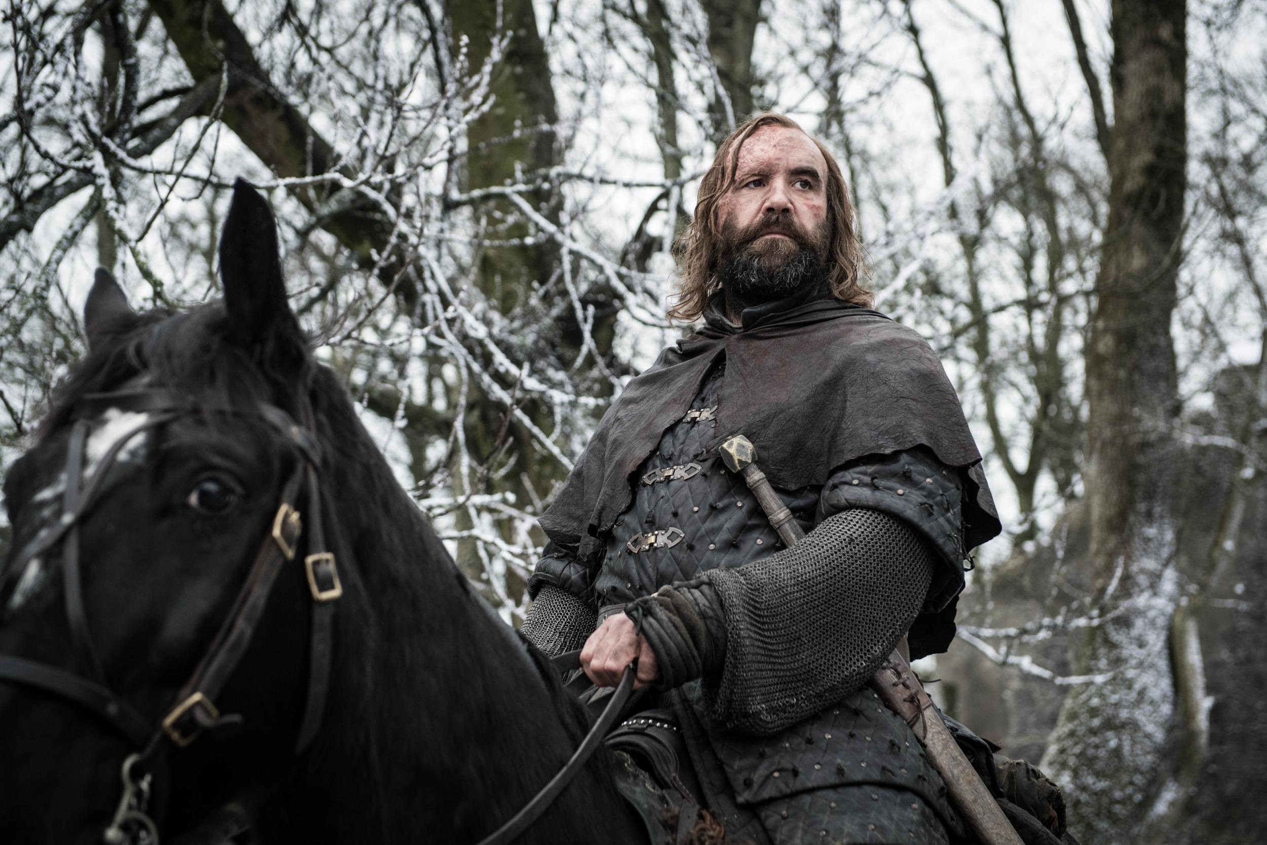 Game of Thrones star Rory McCann says he was living in a tent and 'stealing food' before he landed The Hound role