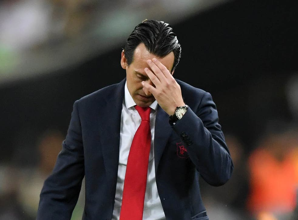 Unai Emery has been sacked by Arsenal