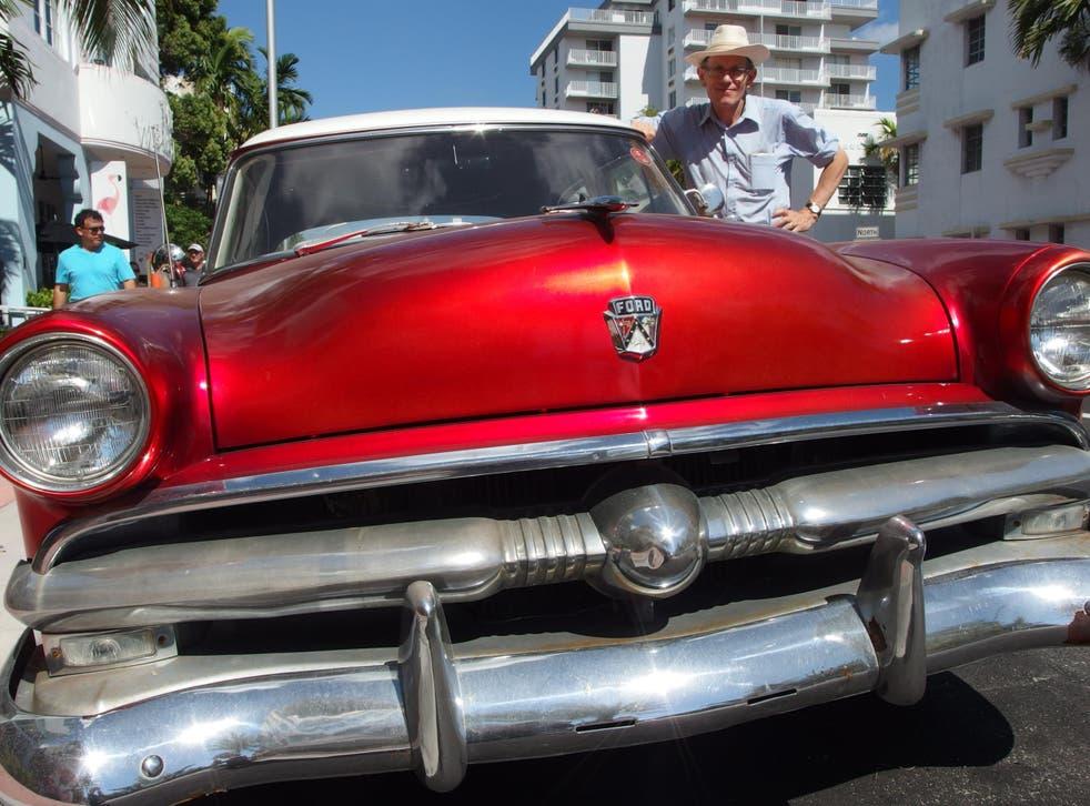 Miami nice: Collins Avenue in South Beach