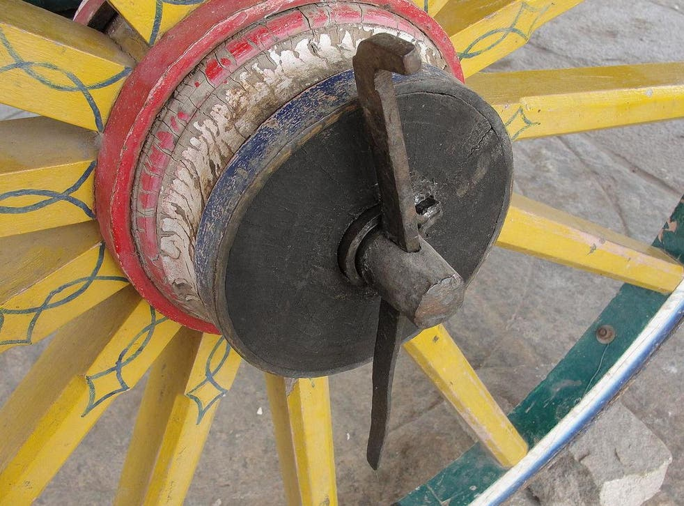 The wheel deal: take away the linchpin and eventually the cart won't work