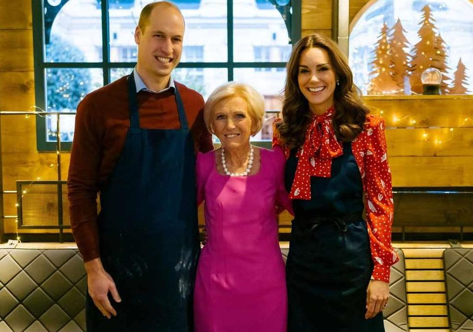 Kate Middleton And Prince William Team Up With Mary Berry