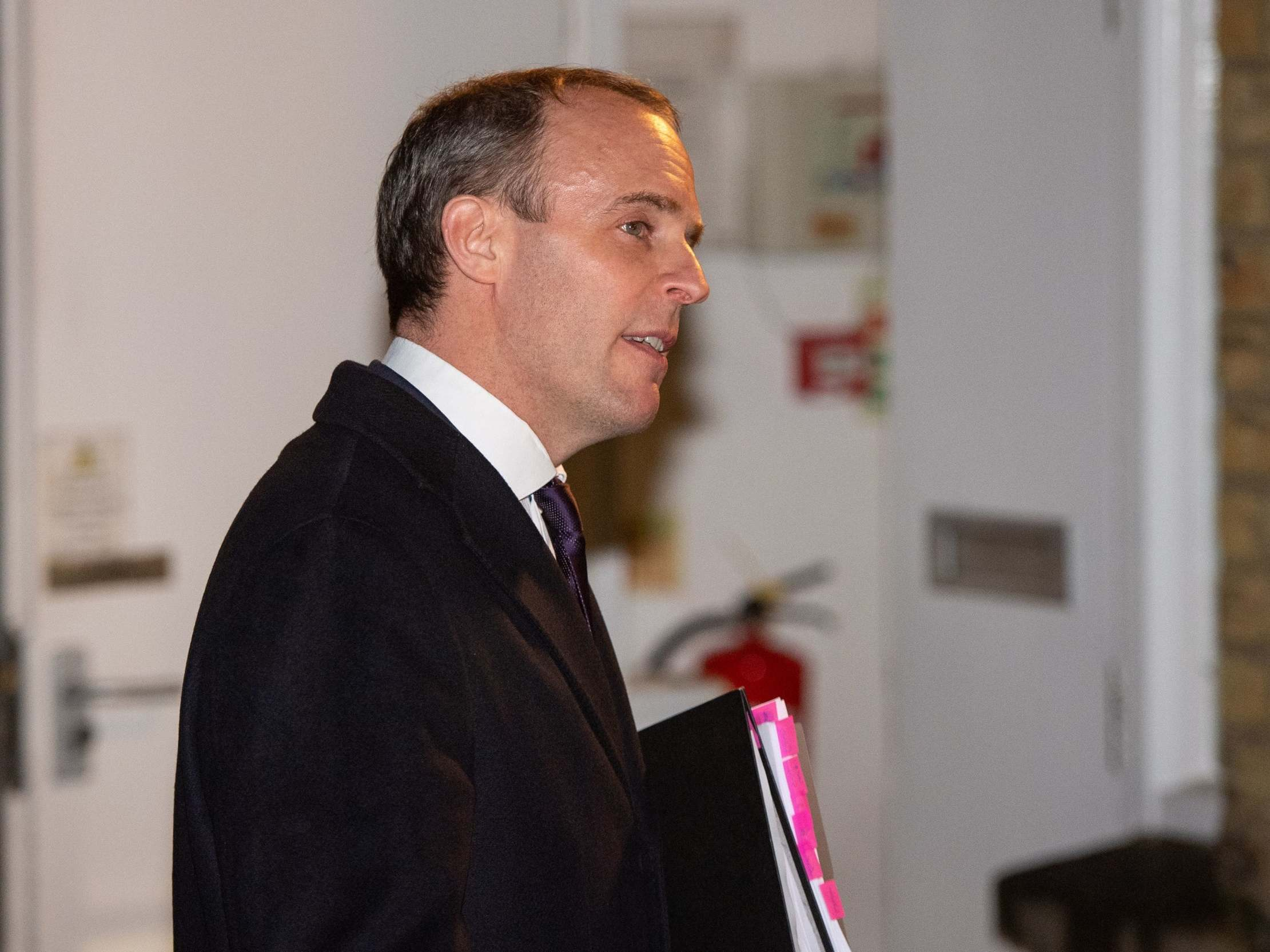 General election: Dominic Raab 'not really' worried about losing his seat despite latest poll