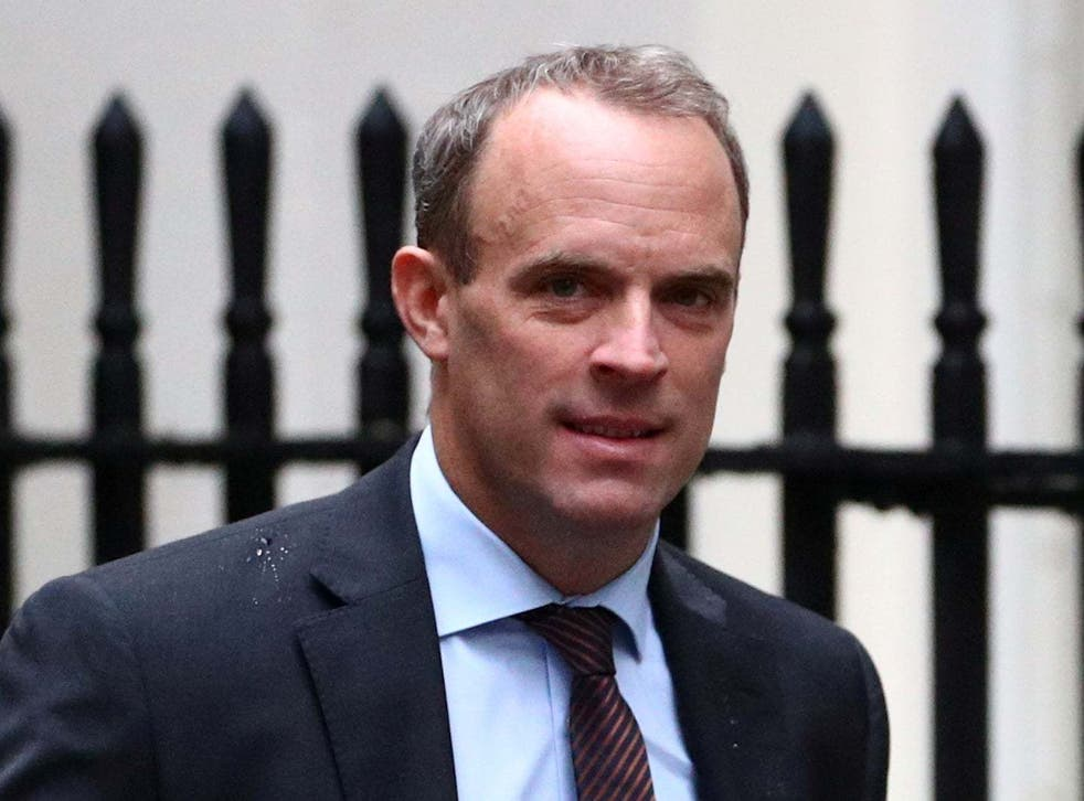 'Neither Raab nor his colleagues can have any moral authority while they continue to arm and support the brutal Saudi dictatorship and its allies'