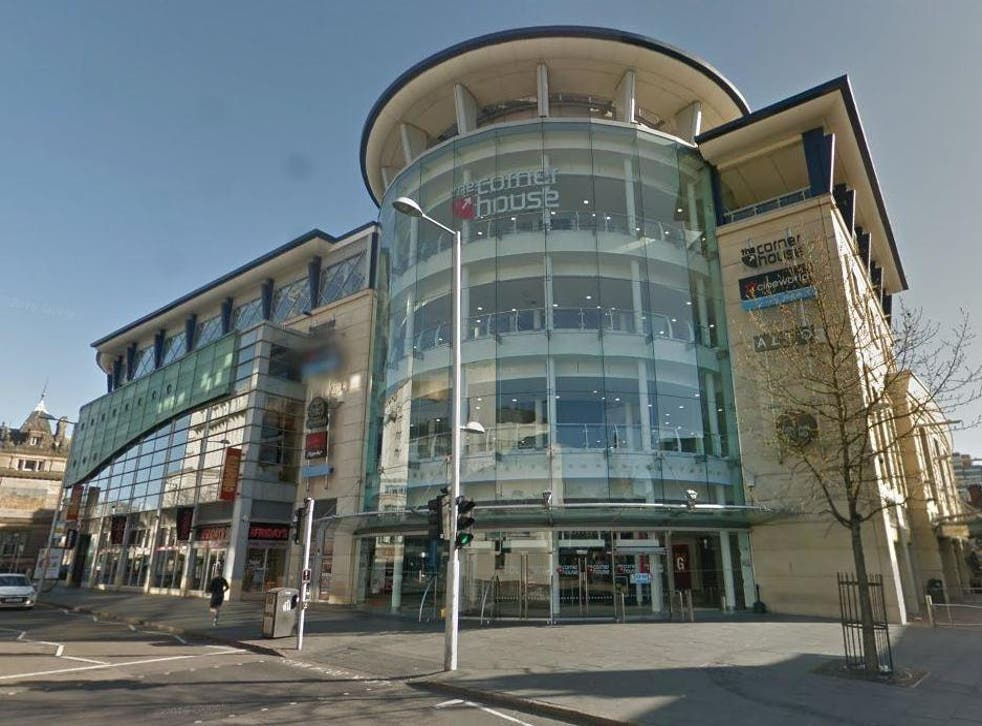Police were called to Cineworld in Nottingham at 8.17pm on Sunday