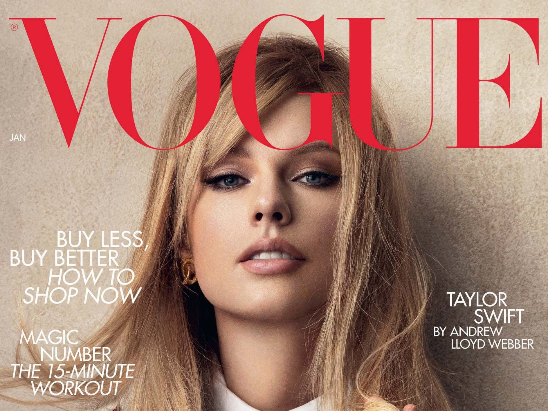 Taylor Swift wears vintage Chanel on Vogue cover to 'contribute to sustainability'