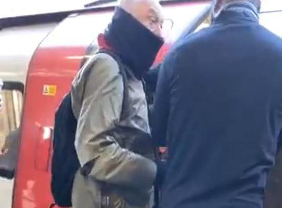 Mr Livingstone accused the TfL worker of trying to push him over