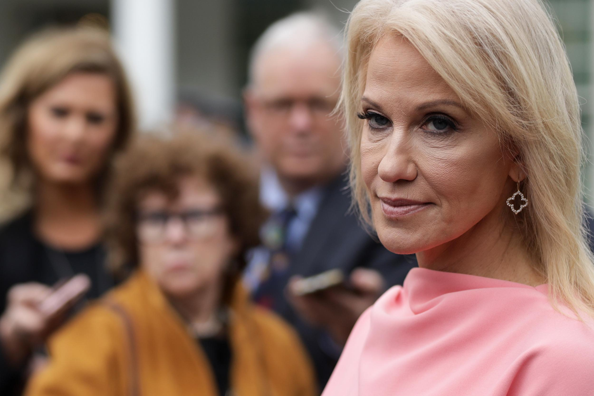 Kellyanne Conway's husband mocks her on Twitter while slamming Trump over impeachment scandal