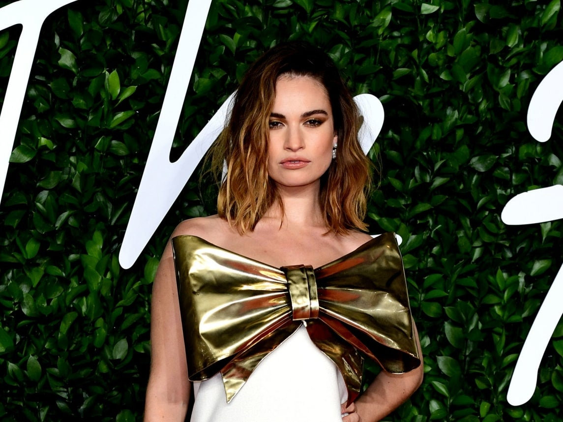 Lily James says she 'kept having panic attacks' while filming Rebecca