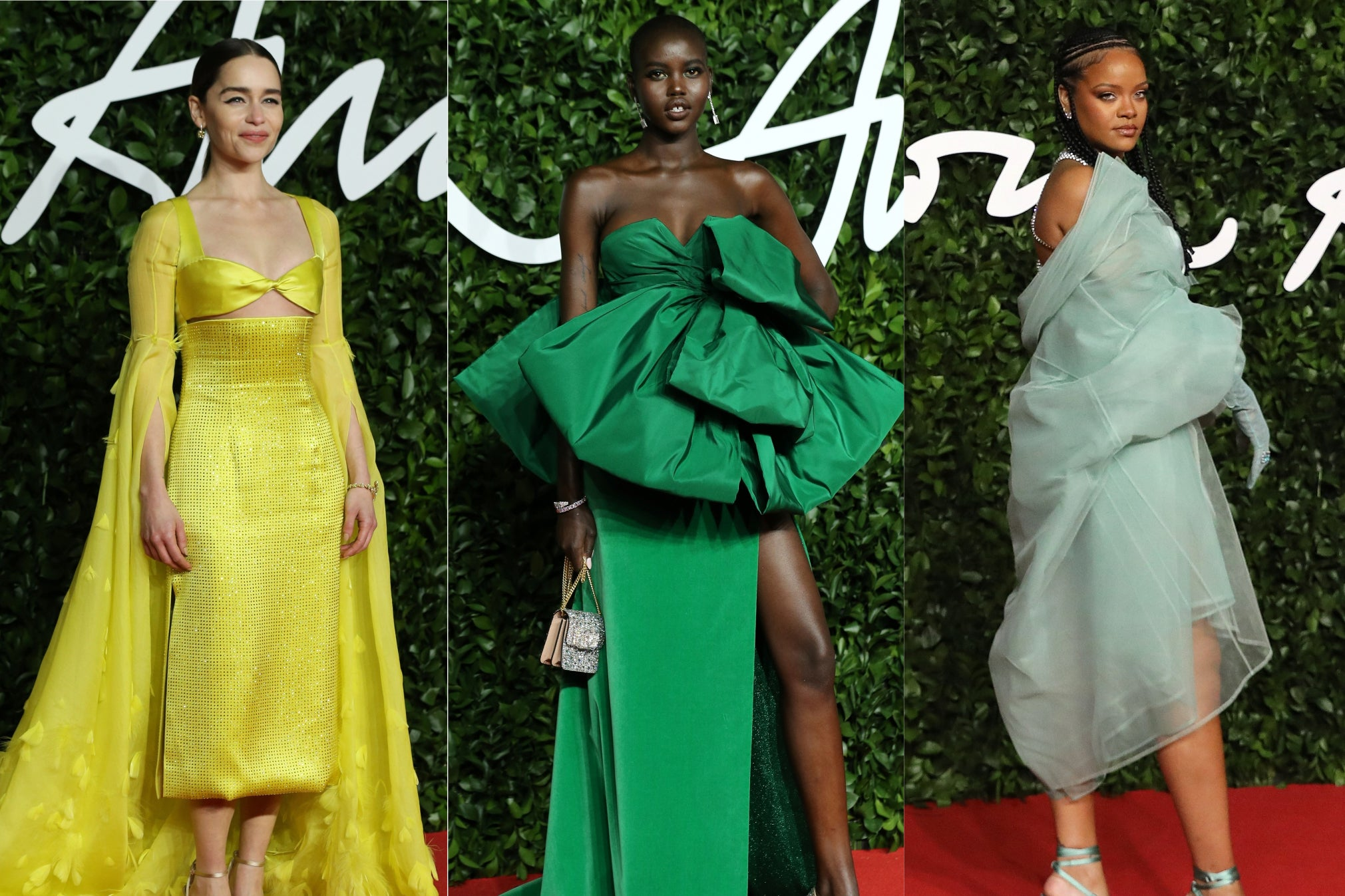 The Fashion Awards 2019: Best dressed, from Rihanna to Emilia Clarke