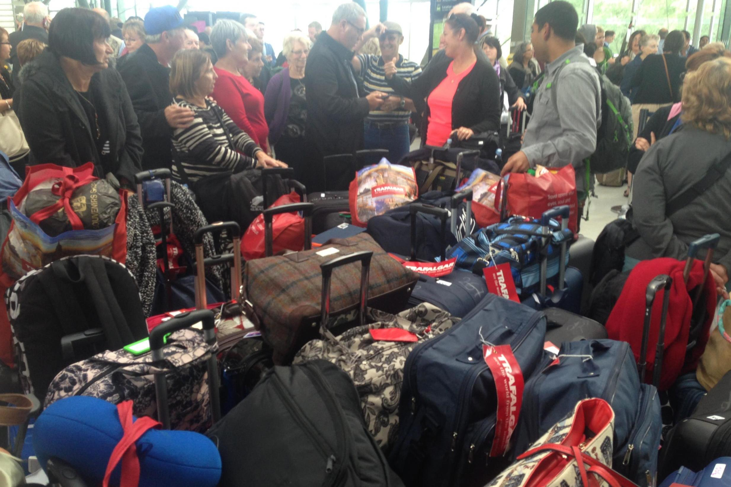 Travel chaos expected in France as national strike shuts down rail, road and air links