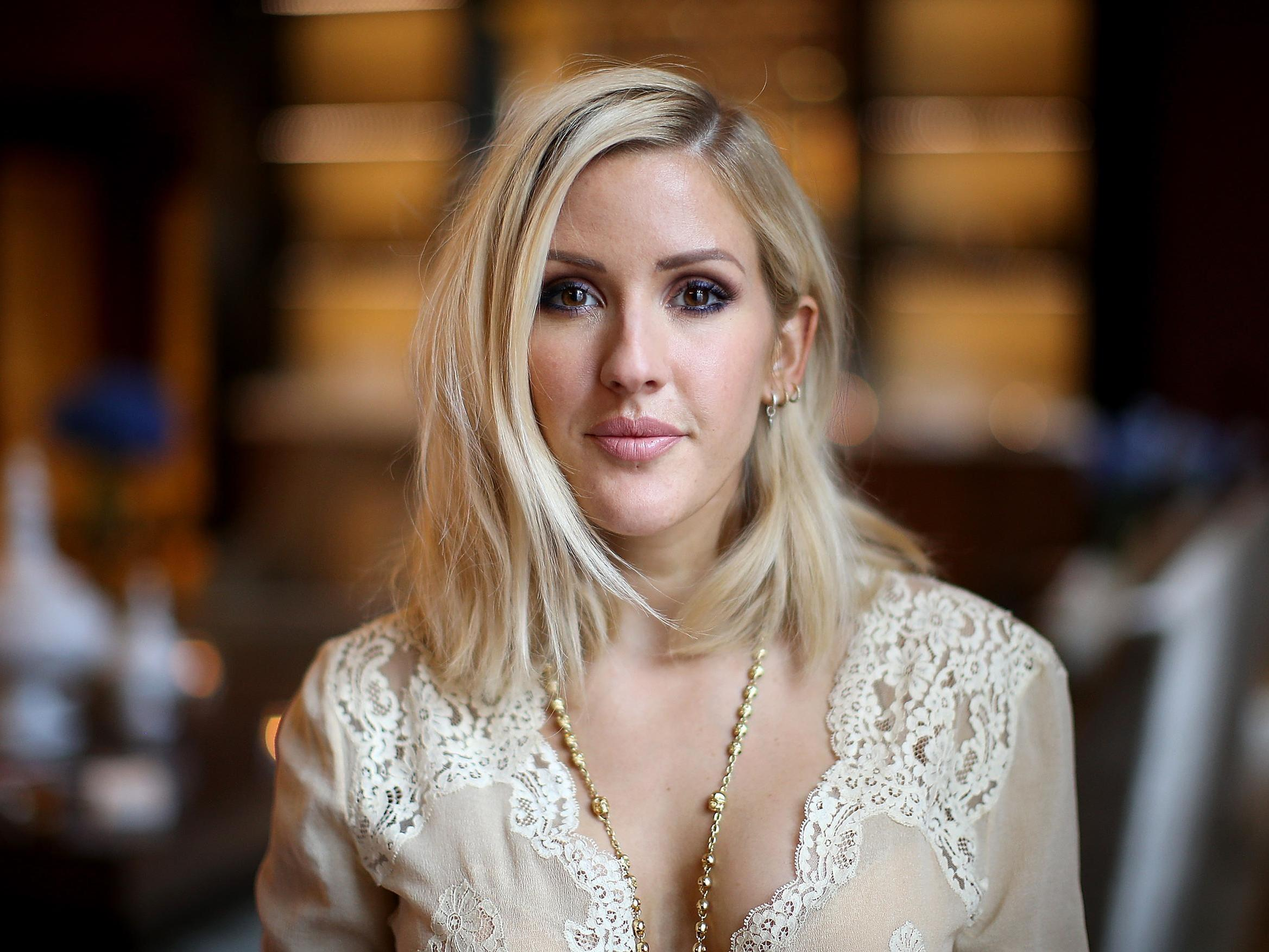 Ellie Goulding says she drank alcohol to make herself seem 'more fun…