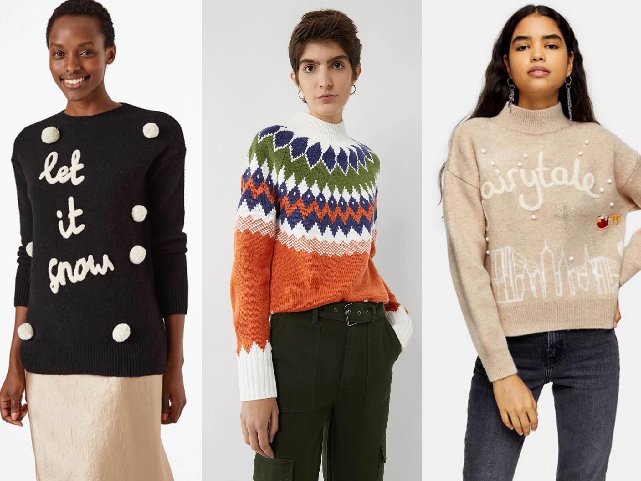 8 best women's Christmas jumpers to wear now it's December