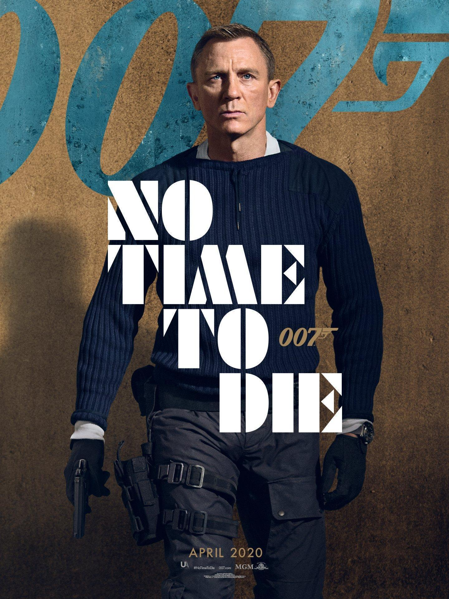 """Coronavirus: Upcoming James Bond Movie, """"NO Time To Die"""" Suffers Set Back On Release Date"""