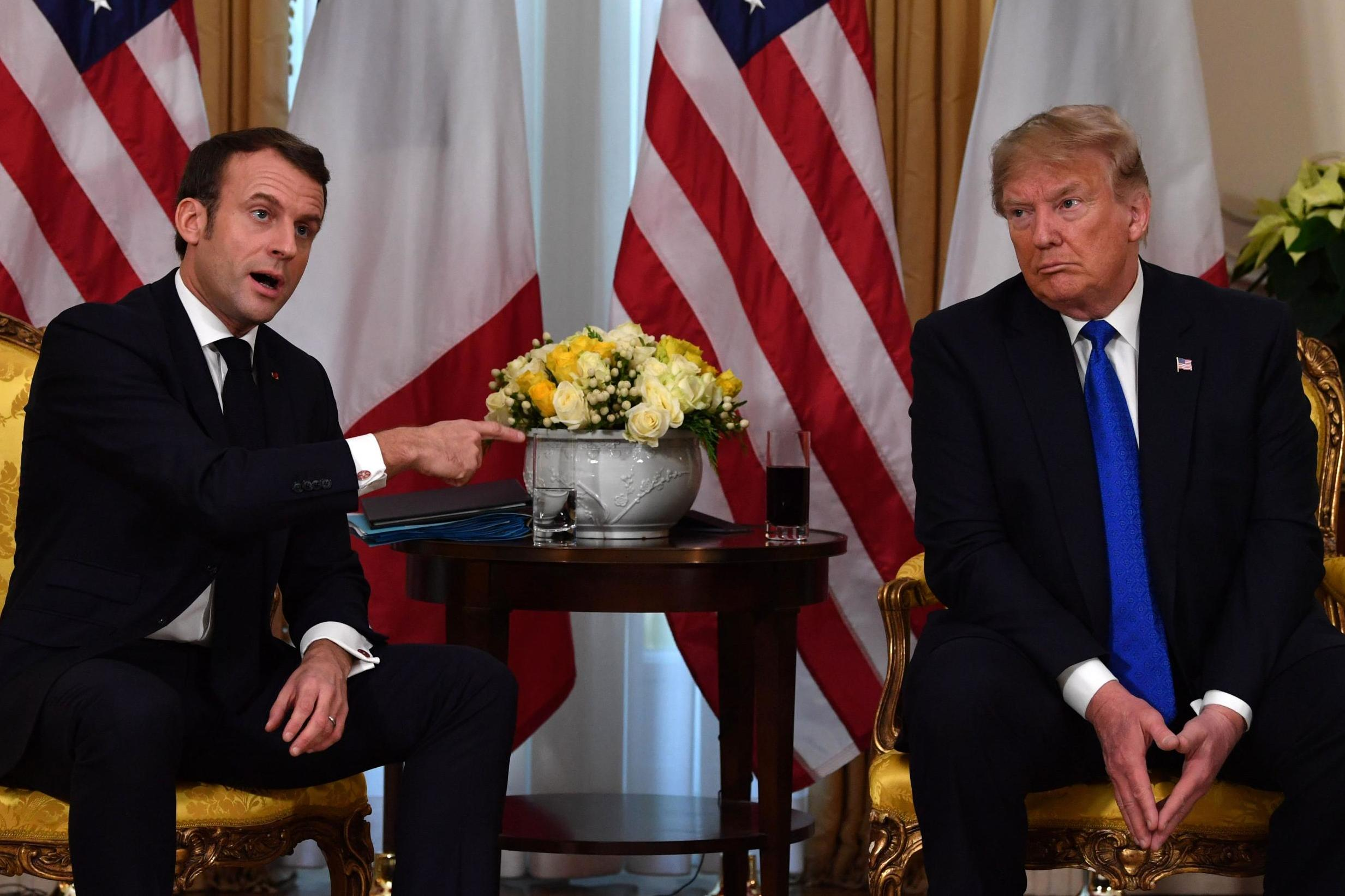 In one moment of unscripted exasperation at NATO, Macron showed Trump what the whole world thinks of him now