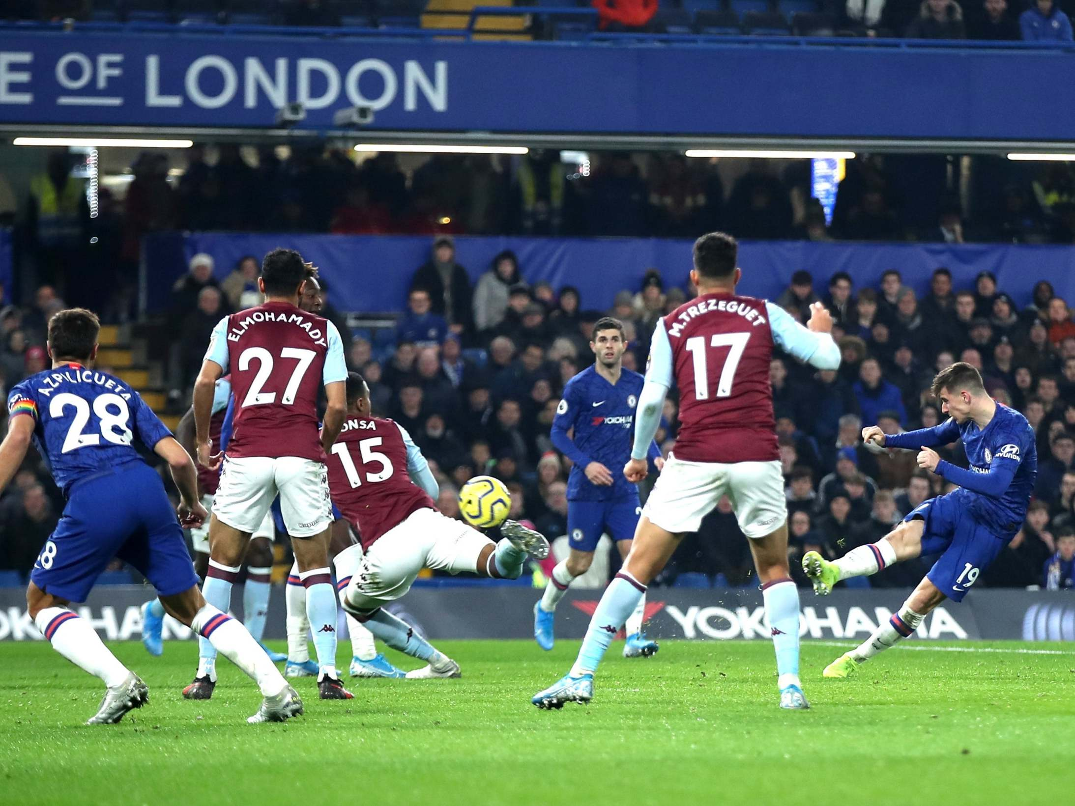 Chelsea vs Aston Villa LIVE: Latest score, goals and updates from Premier League fixture tonight