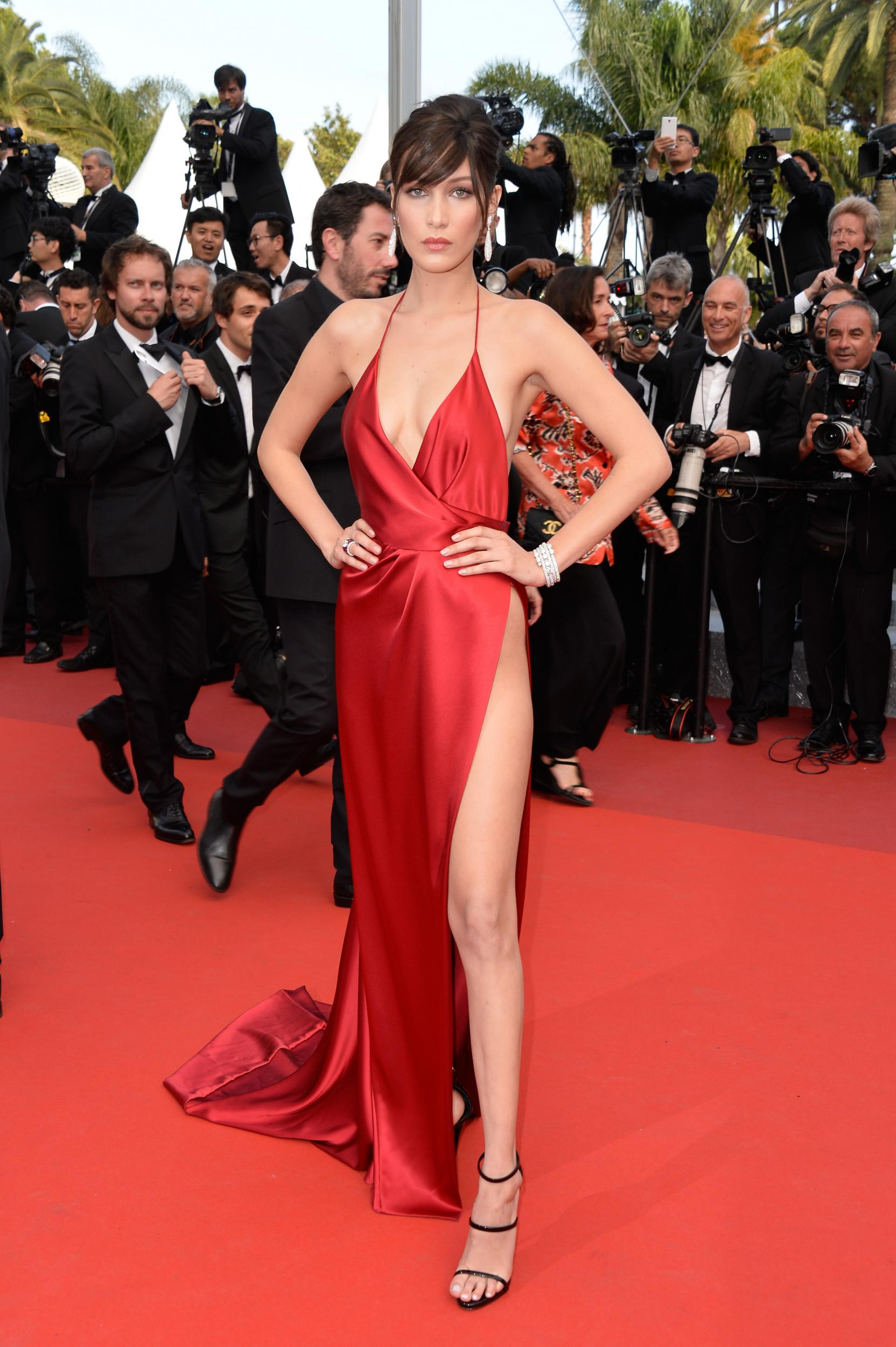 16 - Bella Hadid's Cannes red dress, Alexandra Gauthiere, 2016