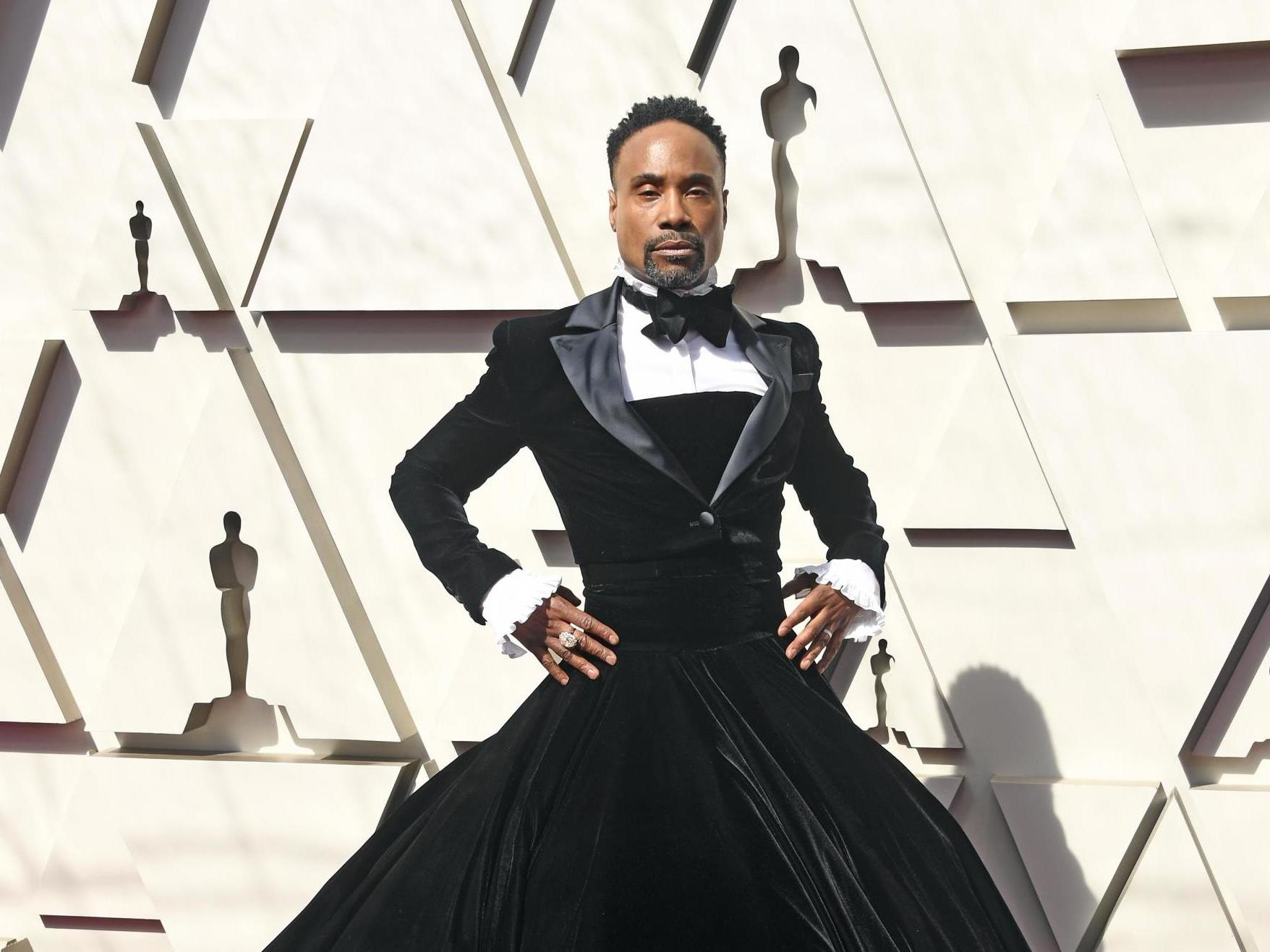 8 - Billy Porter's Oscars dress, Christian Siriano, 2018