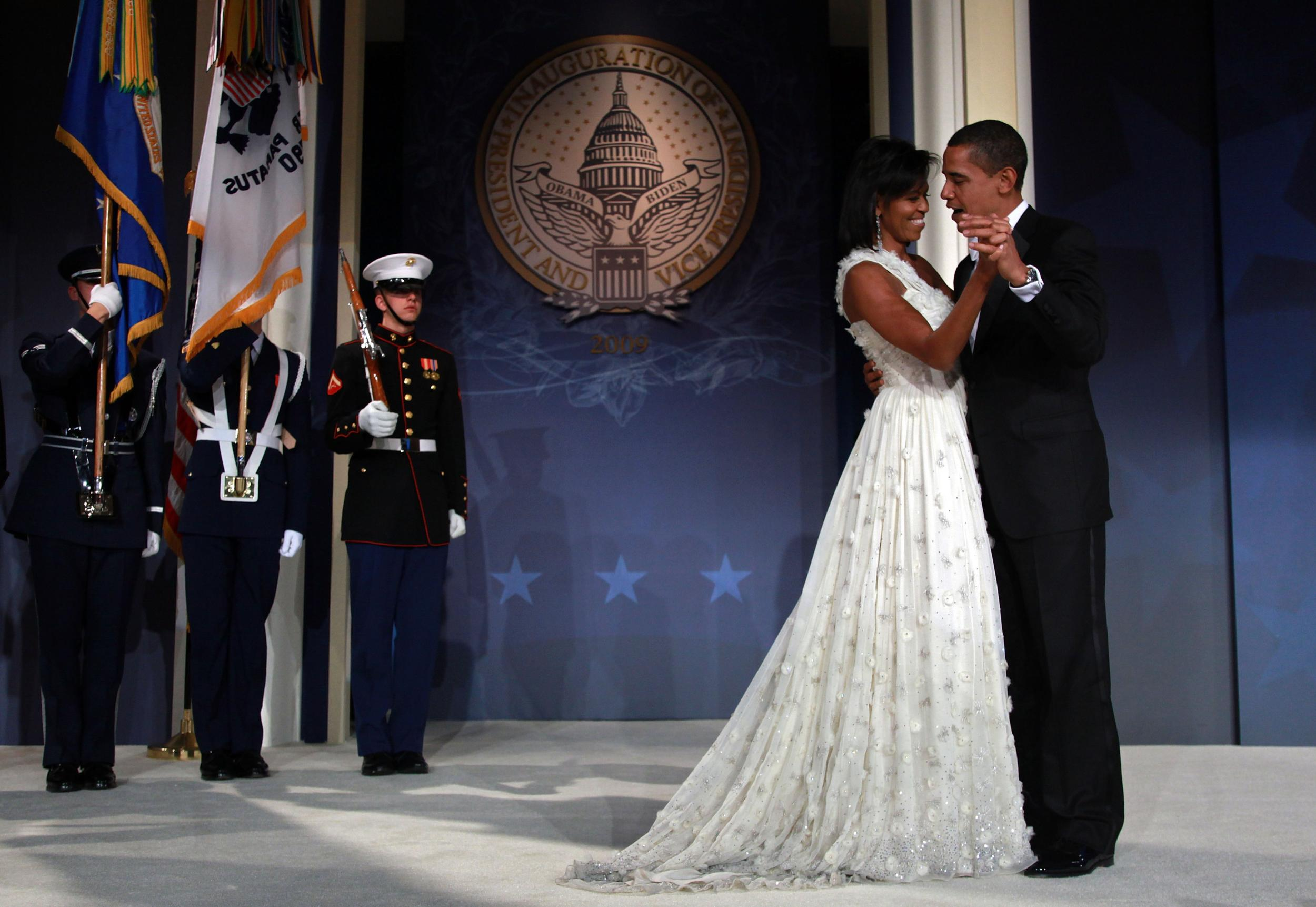 11 - Michelle Obama's Inaugural Gown, Jason Wu, 2009