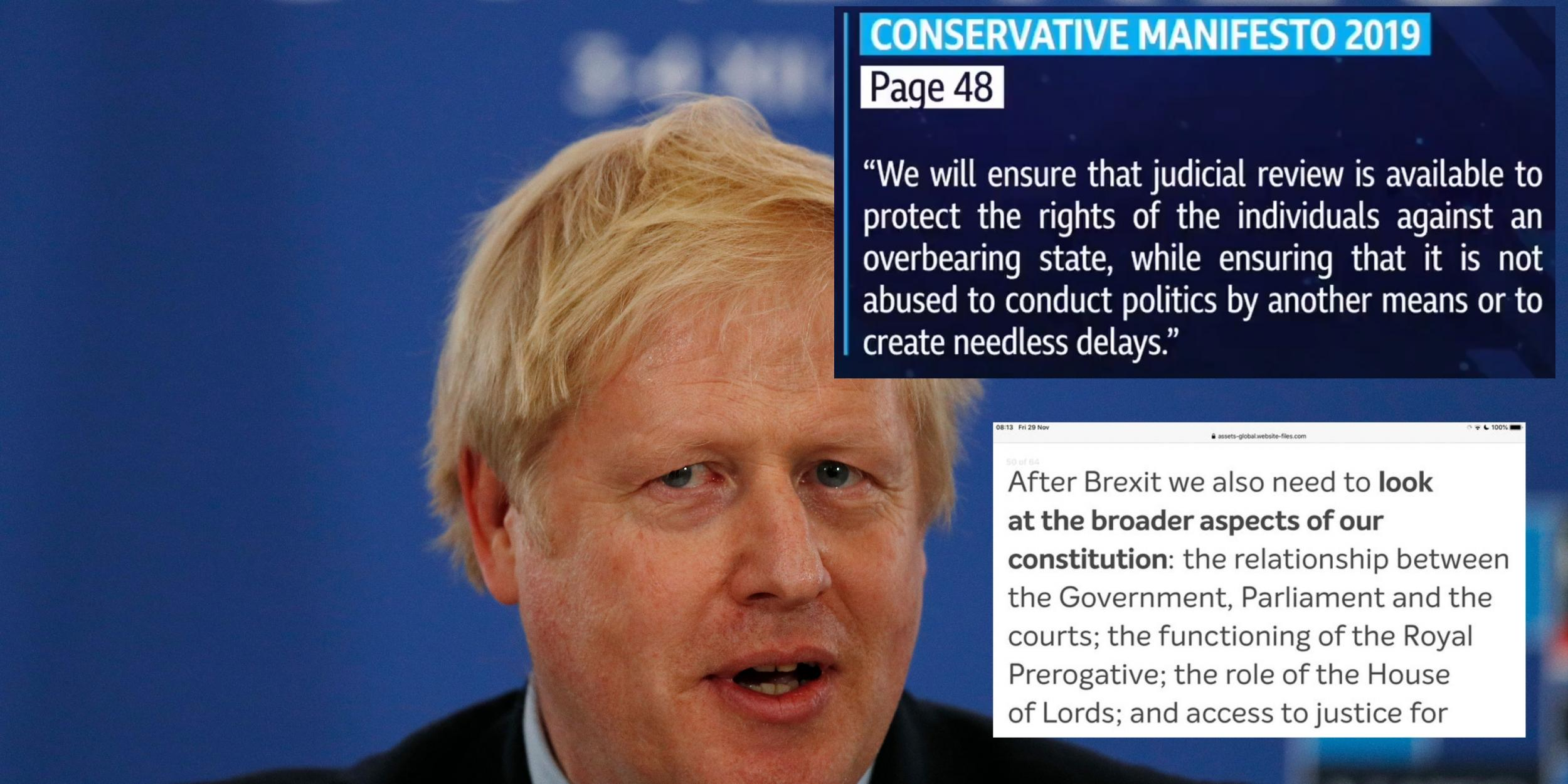 This page of the Tory manifesto is trending because they don't want …